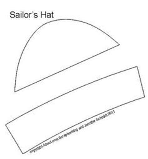 How To Make A Sailor Hat Out Of Paper - 1000 images about 7e sailor hats on sailors