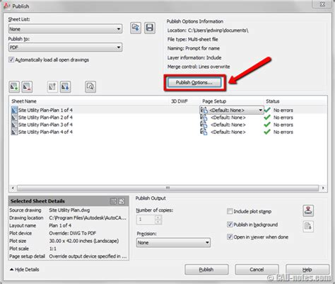 autocad publish command layout not initialized aboutcad how to publish autocad layouts to multiple pdf