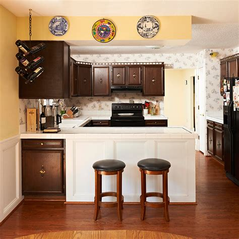 Lowes Before And After Kitchen Refined And Roomy Kitchen Remodel