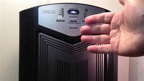 alive air purifier setup  control panel  youtube