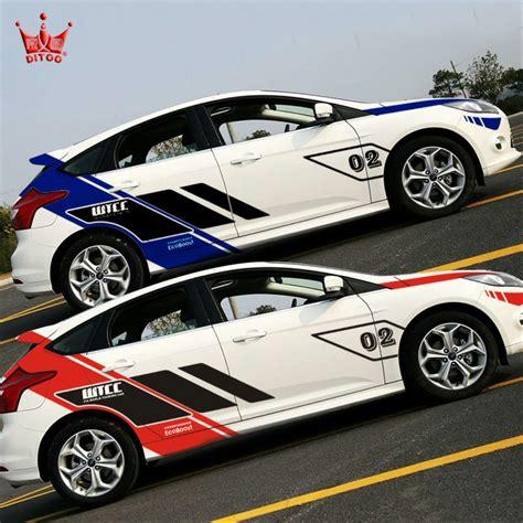 jual cutting sticker striping mobil racing   lapak