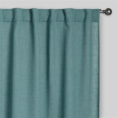 ocean curtains ocean blue bella concealed tab top curtains set of 2