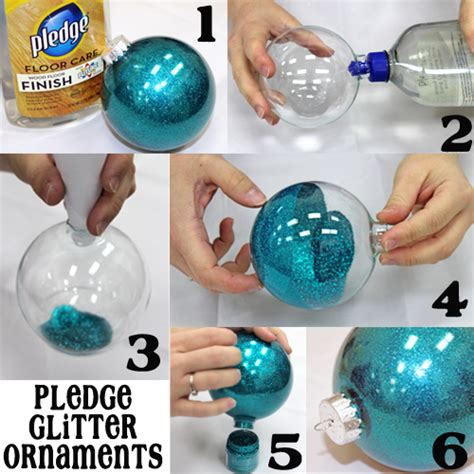 diy pledge glitter ornament pictures photos and images