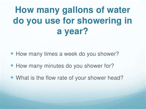 how many gallons of water does the average bathtub hold low flow shower heads presentation complete