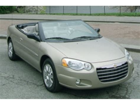 2003 Chrysler Sebring For Sale 2003 chrysler sebring sale by owner in santa barbara ca 93190