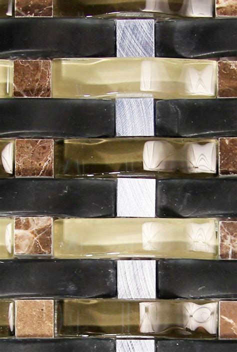 black tile backsplash 126 best images about glass backsplash tile on
