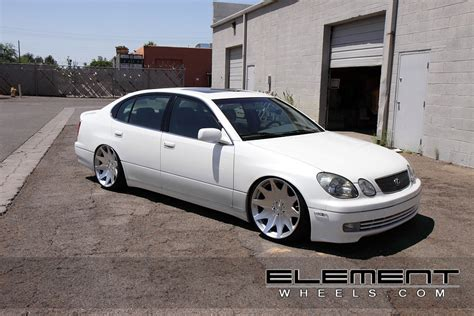custom lexus gs400 lexus gs custom wheels elementwheels com