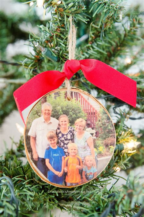 Handmade Photo Ornaments - craftaholics anonymous 174 diy wood slice photo ornament