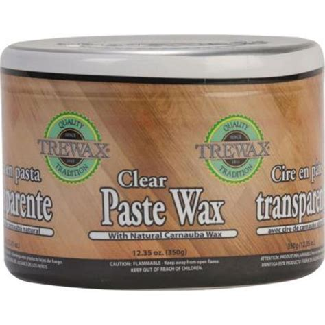 home depot paint wax trewax 12 35 oz paste wax clear can 2 pack 887172176