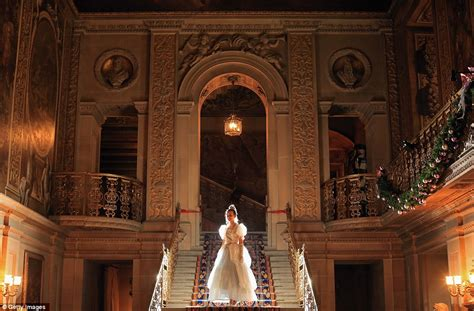 Cinderella House by Fairytale Magic Comes To Chatsworth House As Cinderella