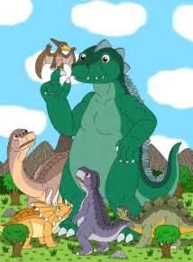 godzilla on dinosaur island by mcsaurus on deviantart