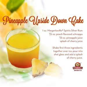 pineapple upside down cake shots have a drink pinterest