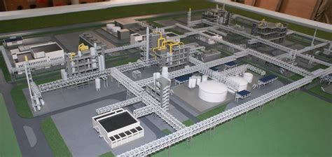 product layout model scale model making industrial models of plant layout
