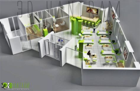 office layout planner 3d commercial 3d modern office floor plan floorplans