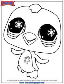 littlest pet shop penguin coloring page hm coloring