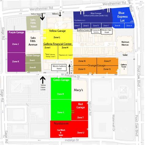 houston map galleria galleria mall houston map
