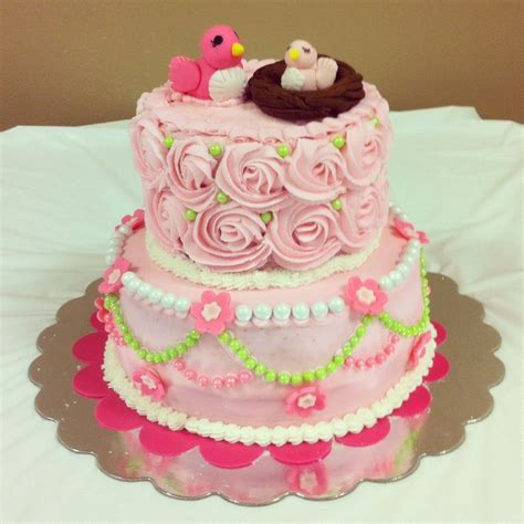 Bird Themed Baby Shower Cake by Cake For Bird Themed Shower Cakecentral