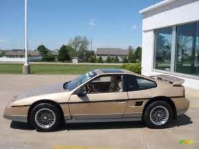 1986 Pontiac Fiero Se 1986 Gold Metallic Pontiac Fiero Gt 29599770 Gtcarlot