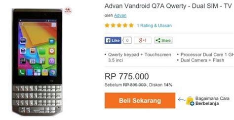 Baterai Advan Q7a harga advan vandroid q7a spesifikasi dual 700 ribuan