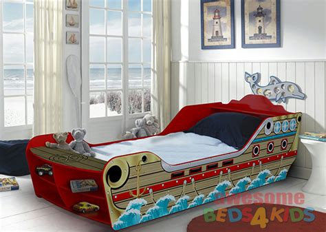 kids boat bed bounty boat bed awesome beds 4 kids