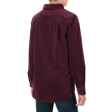 Corduroy Sleeve Shirt woolrich stretch cotton corduroy shirt for
