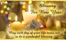 new year blessings cards