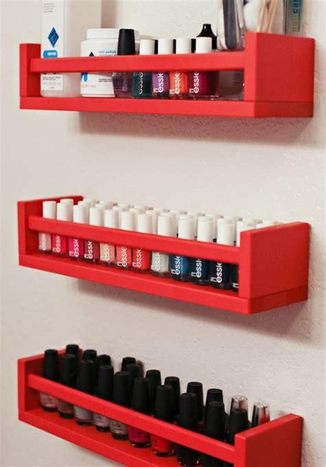 ikea nails love diy nail polish storage using ikea spice rack would