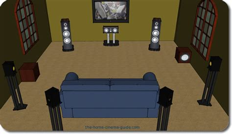 how to place surround sound speakers in a room surround speaker placement surrounds rears and the subwoofer