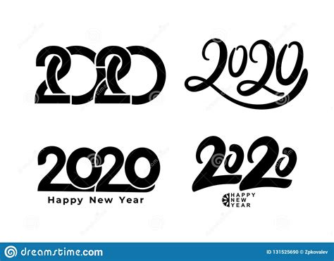 big set   text design pattern collection  happy  year  happy holidays vector