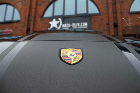 Chromleisten Selber Folieren by Porsche Cayenne Rallyestreifen Braun Matt Metallic Plus