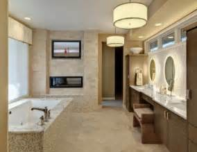 Houzz Bathroom Design by Luxurious Bathrooms With Fireplaces