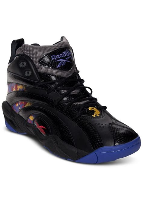 s reebok basketball shoes reebok reebok s shaqnosis basketball sneakers from
