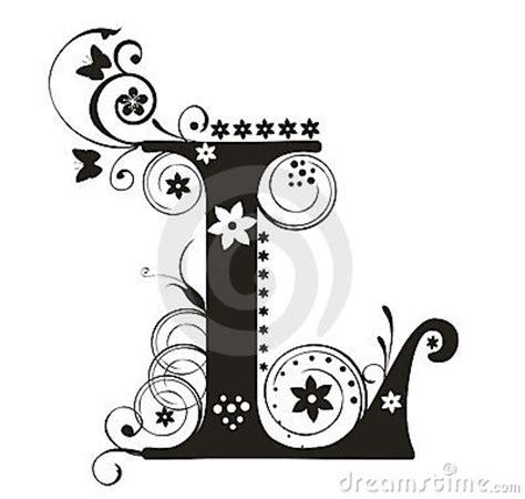 design art l lettera l immagini stock immagine 7207224