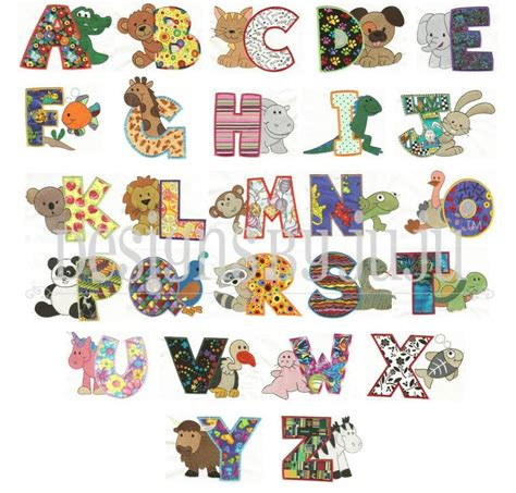 animal pattern font 260 best images about grandbaby on pinterest free sewing