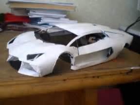 How To Make Lamborghini Lamborghini Aventador Paper Model