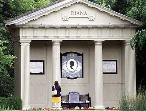 Princess Diana Grave by Triste La Tombe De Lady Di Laiss 233 E 224 L Abandon Femme