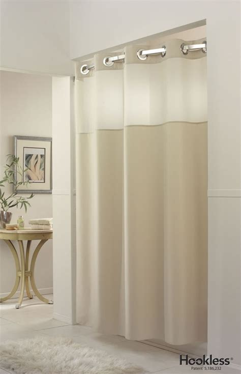 hookless extra wide shower curtain 1000 ideas about hookless shower curtain on pinterest