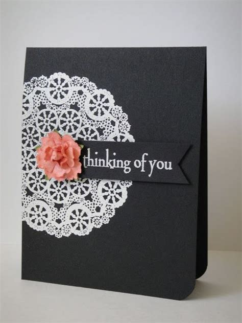 Handmade Cards Pics - handmade card clean and simple white embossed