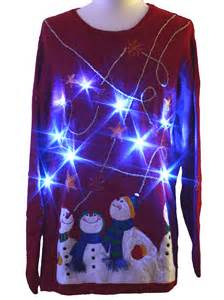 light up sweater editions unisex