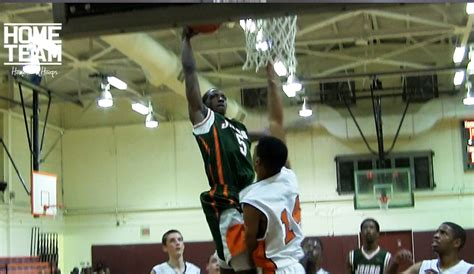 demarcus croaker throws two poster dunks home