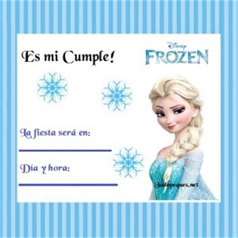 una fiesta frozen con printable gratis la fiesta de olivia invitaci 243 n de cumple con elsa de frozen todo peques
