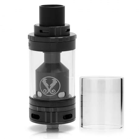 Gemini Rta Rebuildable Tank Atomizer Black Authentic Vaporesso authentic vaporesso gemini rta mega 25mm black rebuildable atomizer