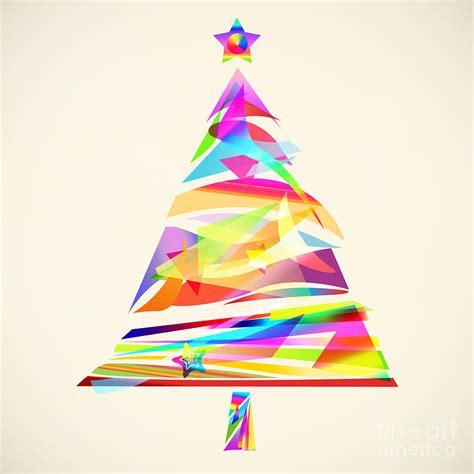 Modern Shower Design christmas tree design painting by setsiri silapasuwanchai