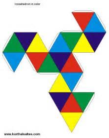 paper icosahedron