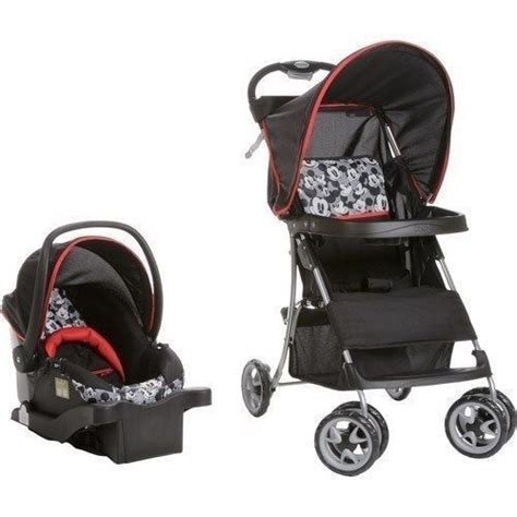 unisex car seats and strollers stroller car seat disney classic mickey mouse basket