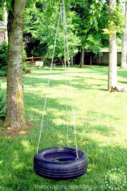 how to hang a tire swing without a tree 20 fun and frugal ideas for your backyard this summer in