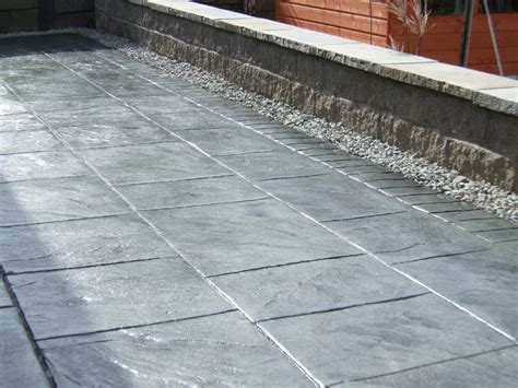 Imprinted Concrete Mats by Walkway Slate