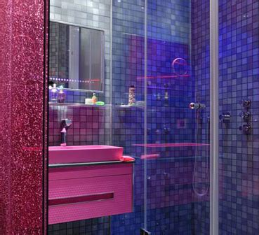 colorful inspiration for bathroom