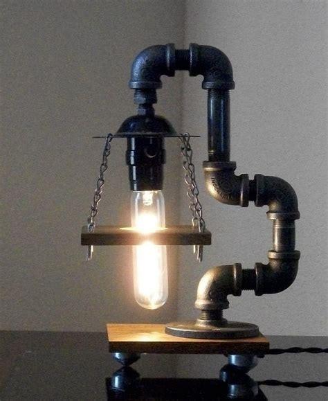 black iron pipe desk 20 interesting industrial pipe l design ideas