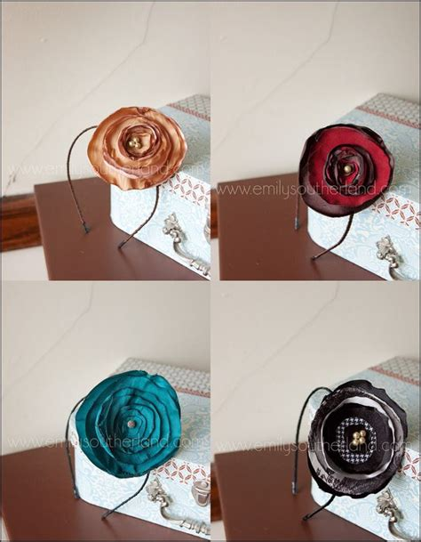 Handmade Tutorials - 5597 best images about diy fabric flowers on